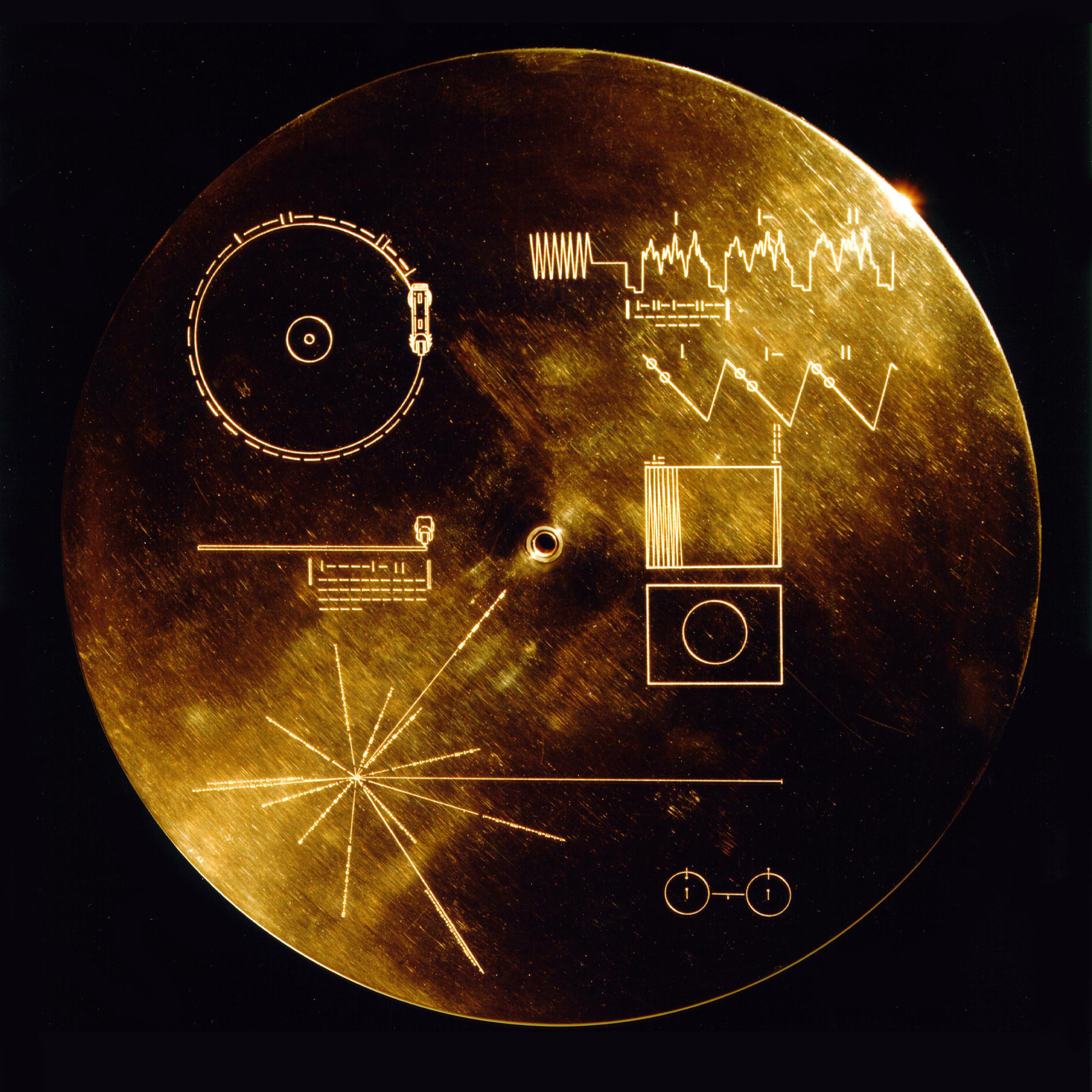 Voyager Golden Record Cover