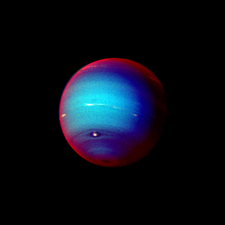 Voyager - Images Voyager Took of Neptune