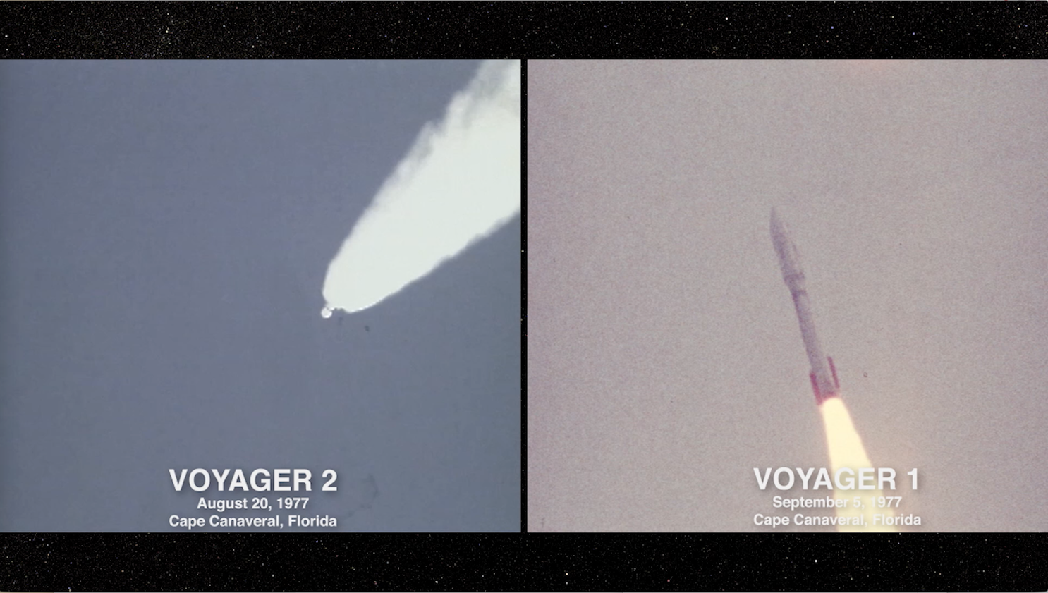 Screenshot of the video 'Voyager at 40: Keep Reaching for the Stars'.