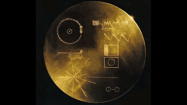 Screenshot of the video 'Message to Voyager: Welcome to Interstellar Space'.