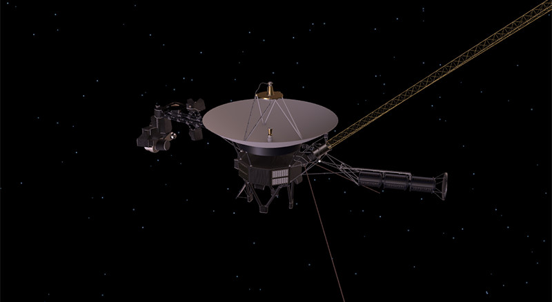 This image is a screenshot of the 3D interactive Voyager model.