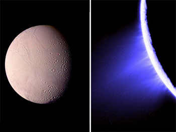 Faces of Enceladus