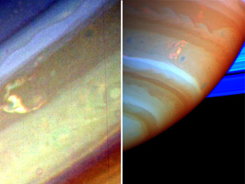 Tempestuous Saturn