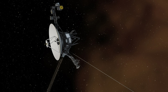Voyager enters Solar System