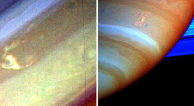 Saturn Then and Now: 30 Years Since Voyager Visit