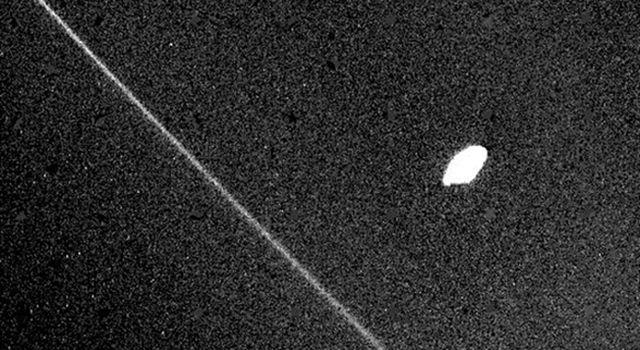 Chaos Seen in Movement of Ring-Herding Moons of Saturn