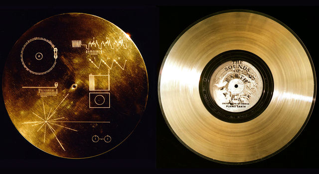 Each Voyager spacecraft carries a copy of the Golden Record