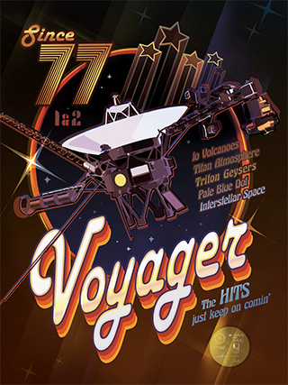Voyager Disco Poster