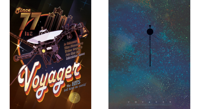 Voyager nasa and iconic museum honor voyager spacecraft 40th